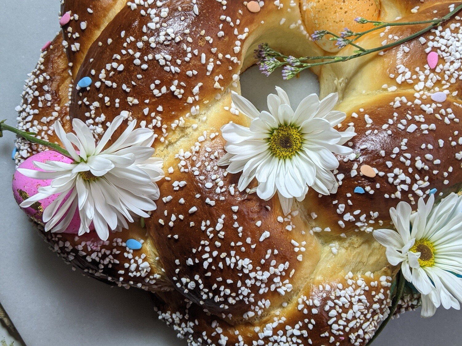 Marzipan Easter Bread