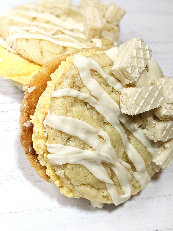 Lemon Passion fruit Bomb Cookie