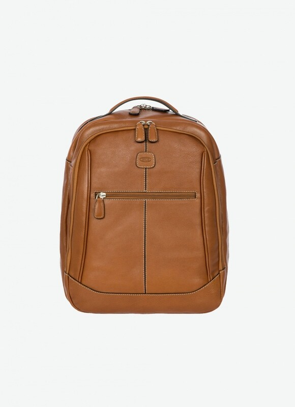 BRIC'S Life Pelle BACKPACK W/LAPTOP
