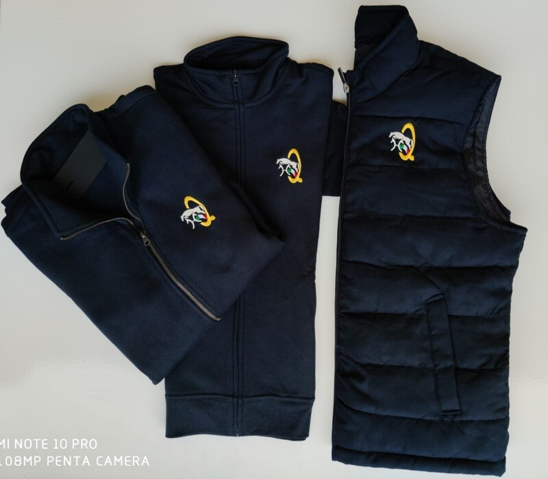 LTQCOLLECTION COMPETITION SET  HOODIE+GILET
