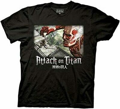 Attack on Titan Wall Battle T-Shirt
