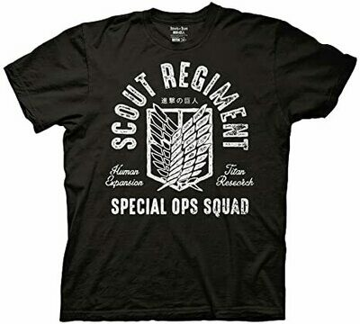 Attack on Titan Scout Regiment T Shirt