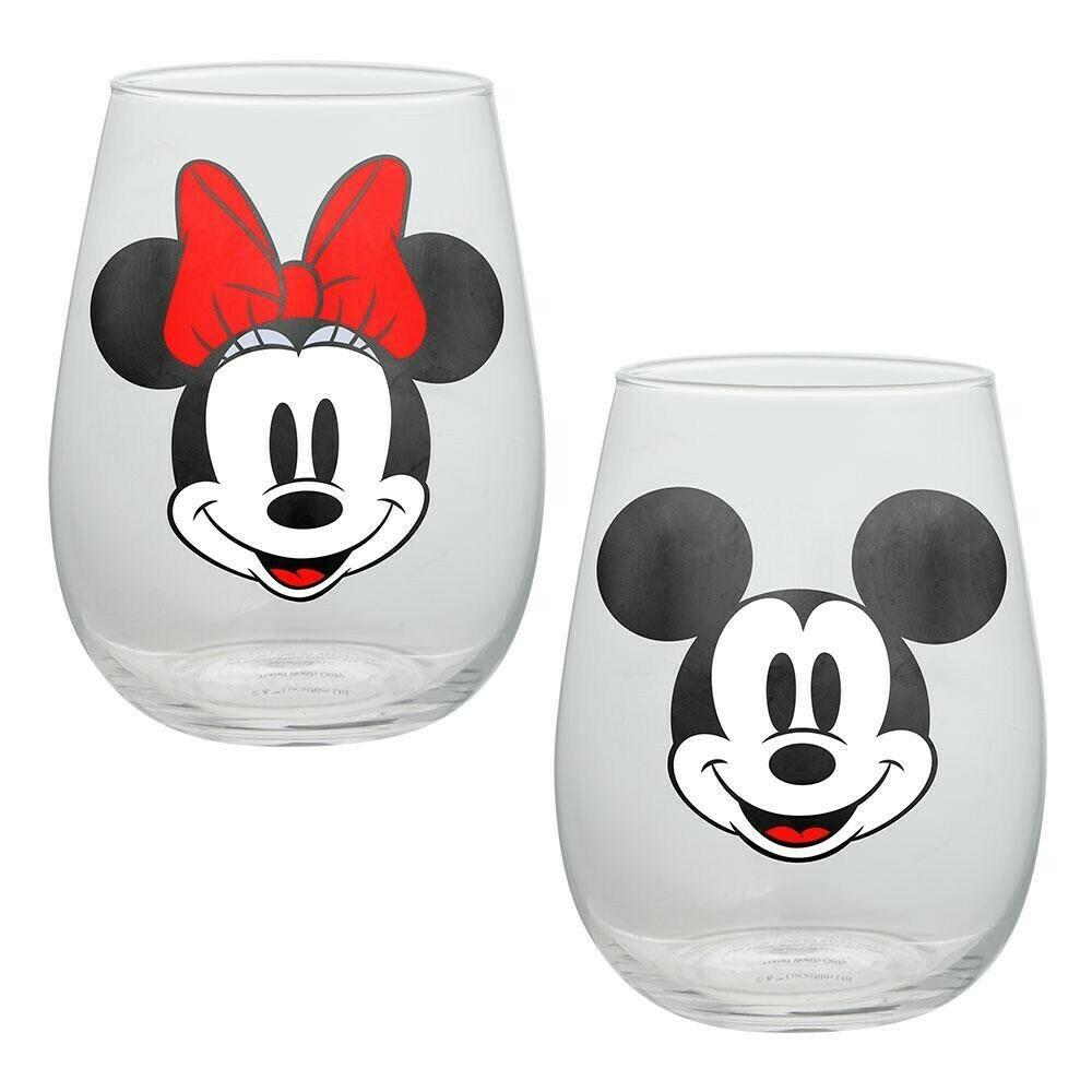 Disney Mickey & Minnie Glasses