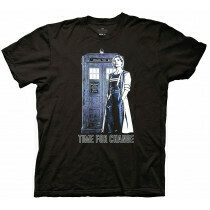 Doctor Who Time For Change T Shirt
