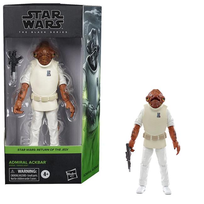 Star Wars Black Admiral Ackbar