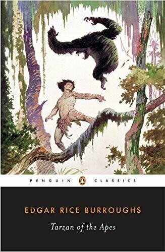 Burroughs, Edgar Rice- Tarzan of the Apes