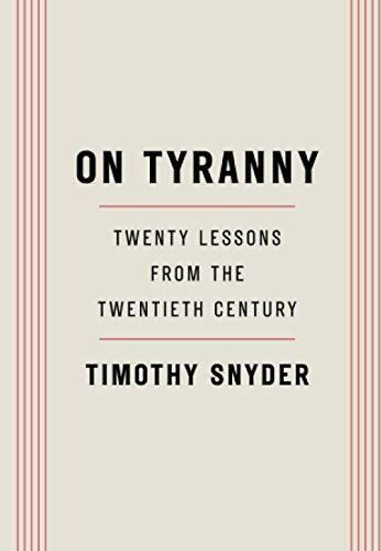 Snyder, Timothy- On Tyranny
