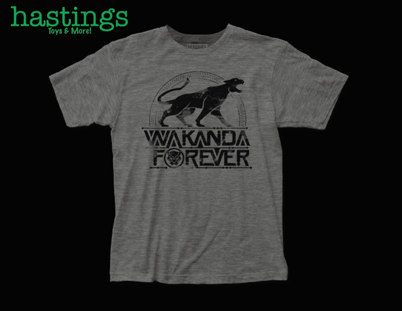 Black Panther Wakanda Forever T Shirt