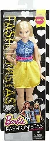 Barbie Fashonistas Curvy 22