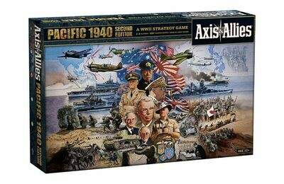 Axis & Allies 1940 Pacific 2nd Edition