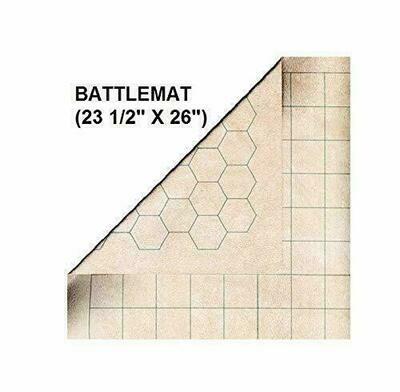 "Battlemat 1"" Sq & 1"" Hex"