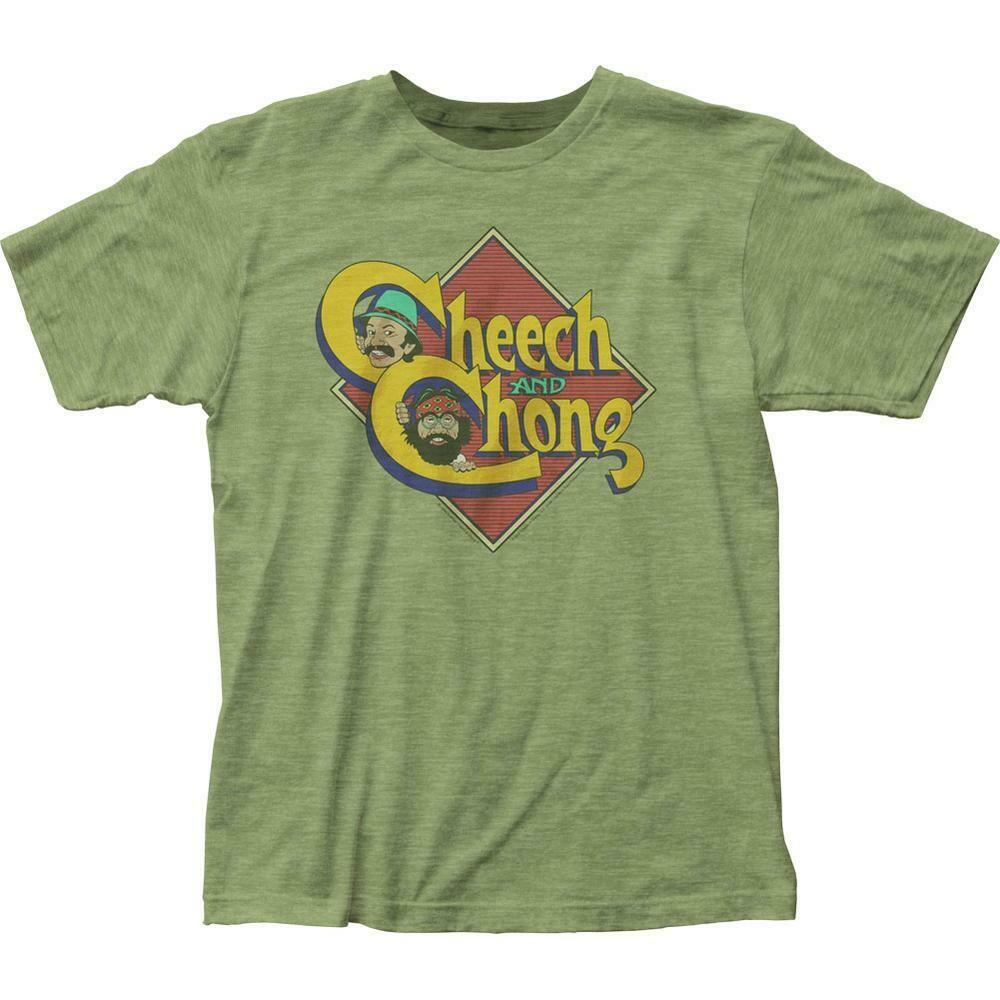 Cheech and Chong Caricature T Shirt