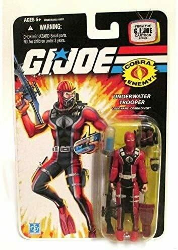 Gi Joe 25th Cobra Diver