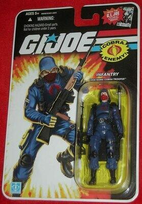 Gi Joe 25th Cobra Trooper Red