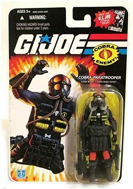 Gi Joe 25th Cobra Para Viper