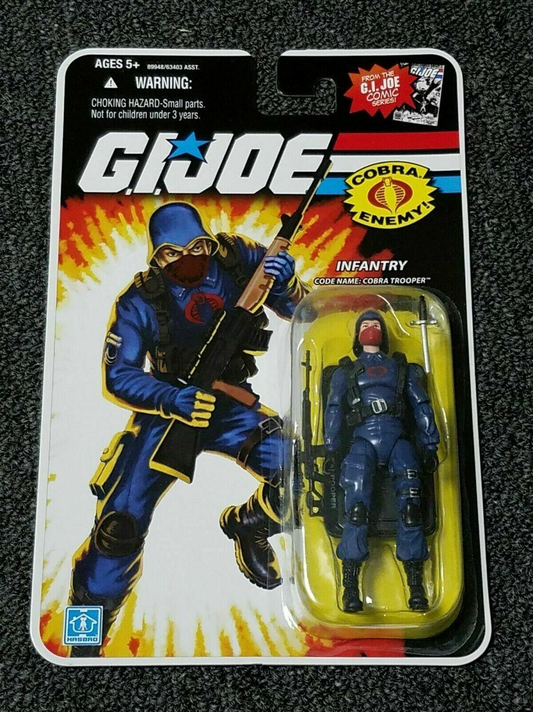 Gi Joe 25th Cobra Trooper Blue