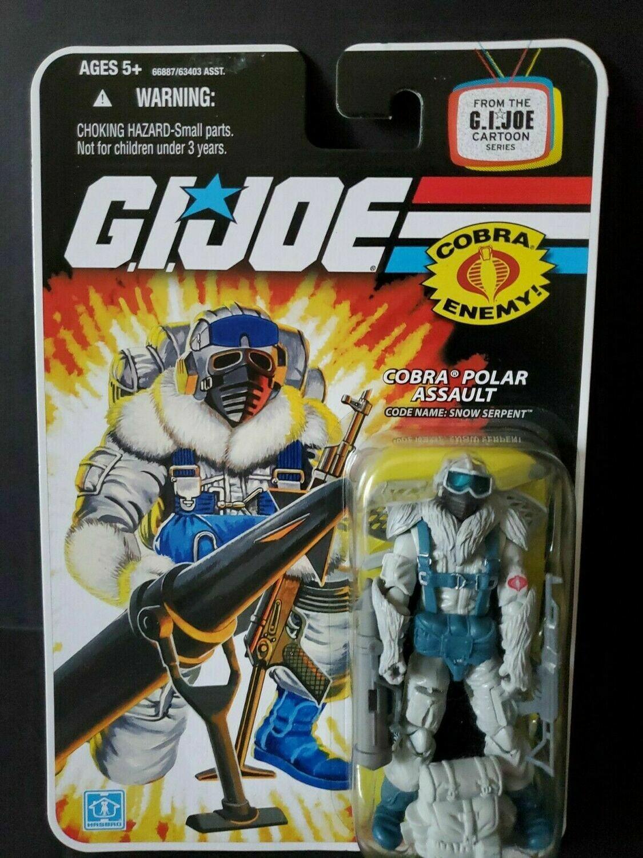 Gi Joe 25th Snow Serpent