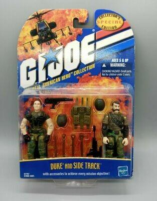 Gi Joe SE Duke and Side Track