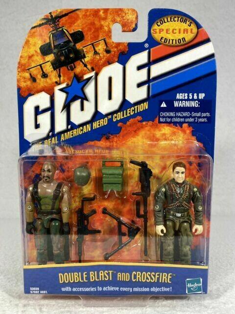 Gi Joe SE Double Blast and Crossfire