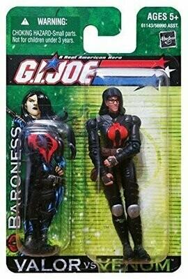 Gi Joe Valor vs Venom Baroness