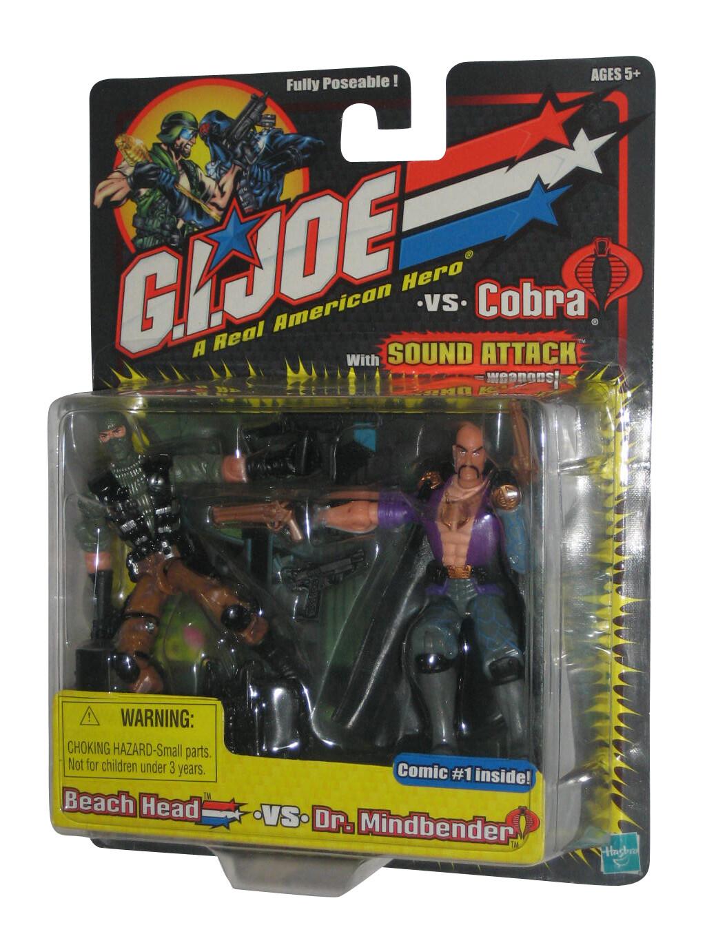 GI Joe vs Cobra: Beach Head vs Dr Mindbender