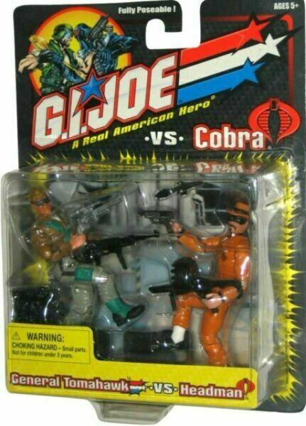 GI Joe vs Cobra: General Tomahawk vs Headman