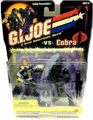 GI Joe vs Cobra: Wet Suit vs Cobra Moray