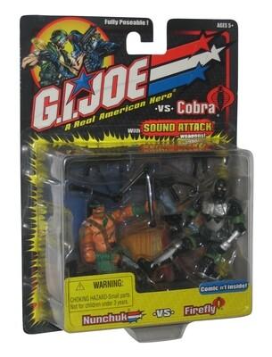 GI Joe vs Cobra: Nunchuk vs Firefly