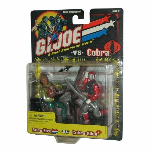 Gi Joe vs Cobra: Sure Fire vs Cobra Slice
