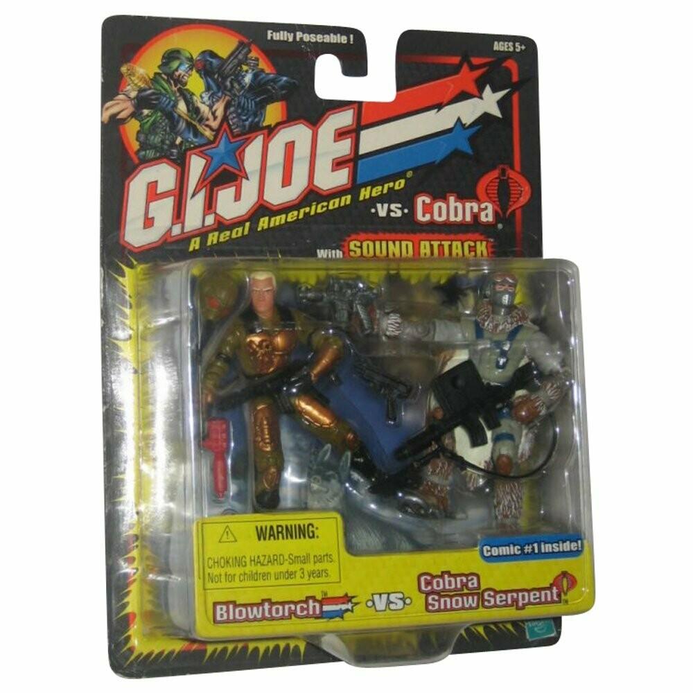 GI Joe vs Cobra: Blowtorch vs Cobra Snow Serpent