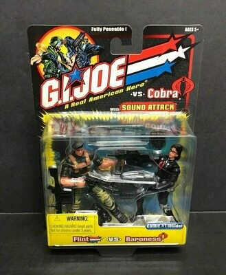 GI Joe vs Cobra: Flint vs Baroness