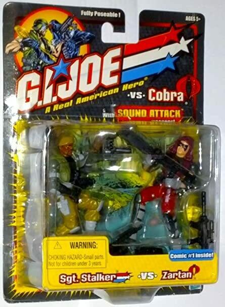 GI Joe vs Cobra: Sgt Stalker vs Zartan