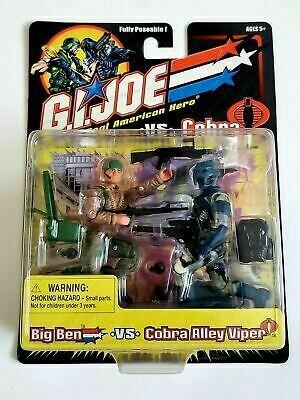 GI Joe vs Cobra: Big Ben vs Cobra Alley Viper