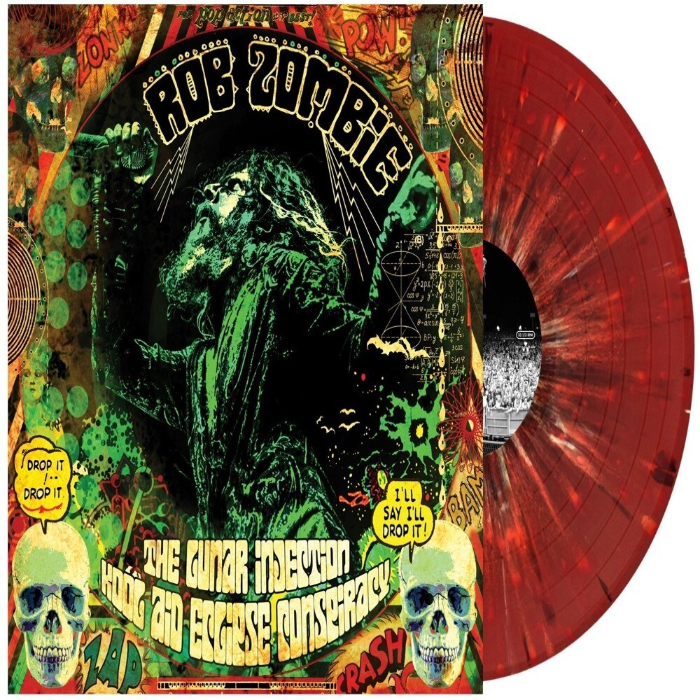 Rob Zombie- The Lunar Injection Kool Aid Eclipse Conspiracy LP