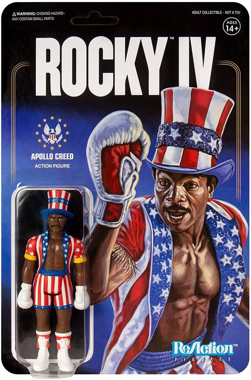 Rocky IV Apollo Creed ReAction