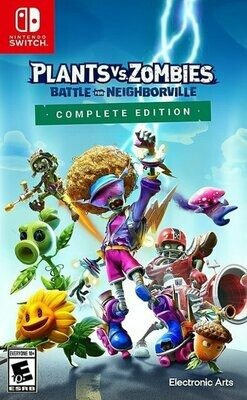NS  Plants VS Zombies Battle for Neighborville Complete Edition