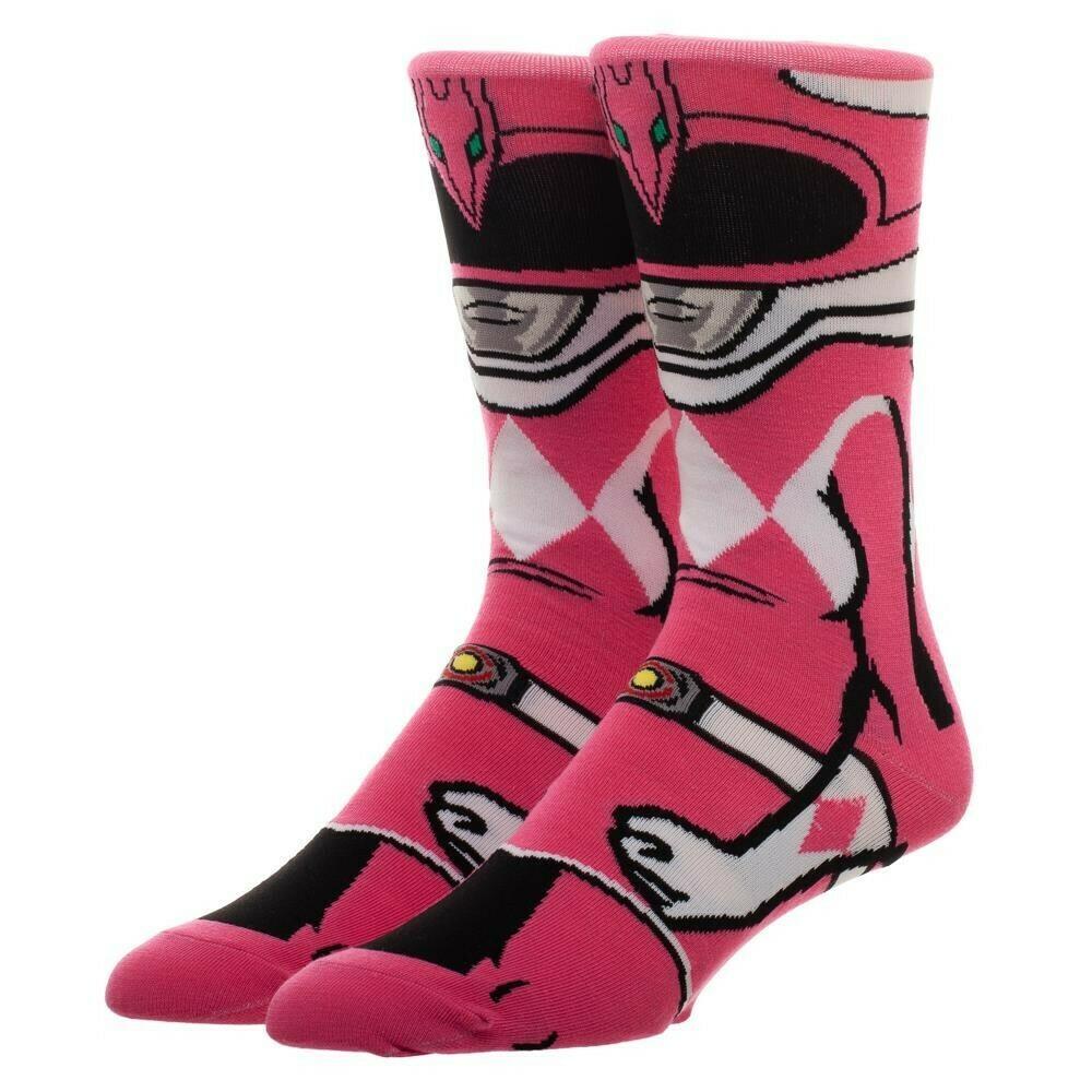 Power Rangers Pink Ranger Socks