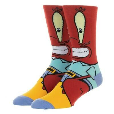 SpongeBob Mr Krabbs Socks