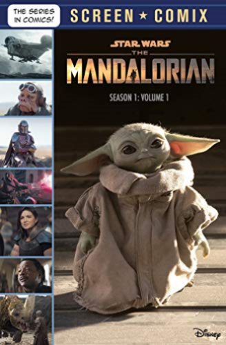 Star Wars Mandalorian Screen Comix V1