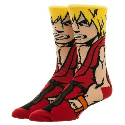 Street Fighter Ken Socks