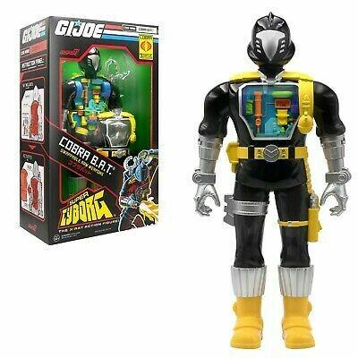 "Super7 GI Joe Super Cyborg Cobra B.A.T. 11"""
