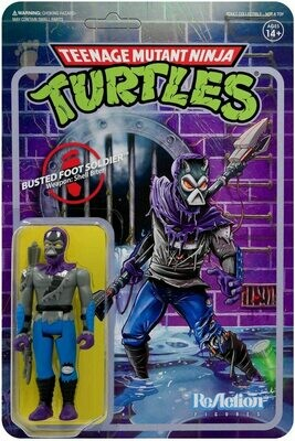TMNT ReAction Busted Foot Soldier