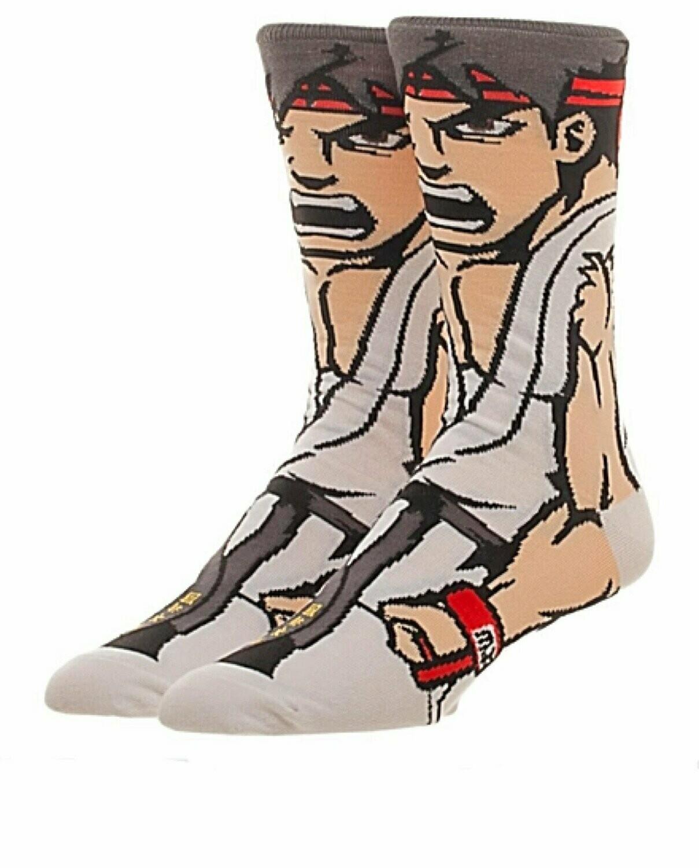 Street Fighter Ryu Socks