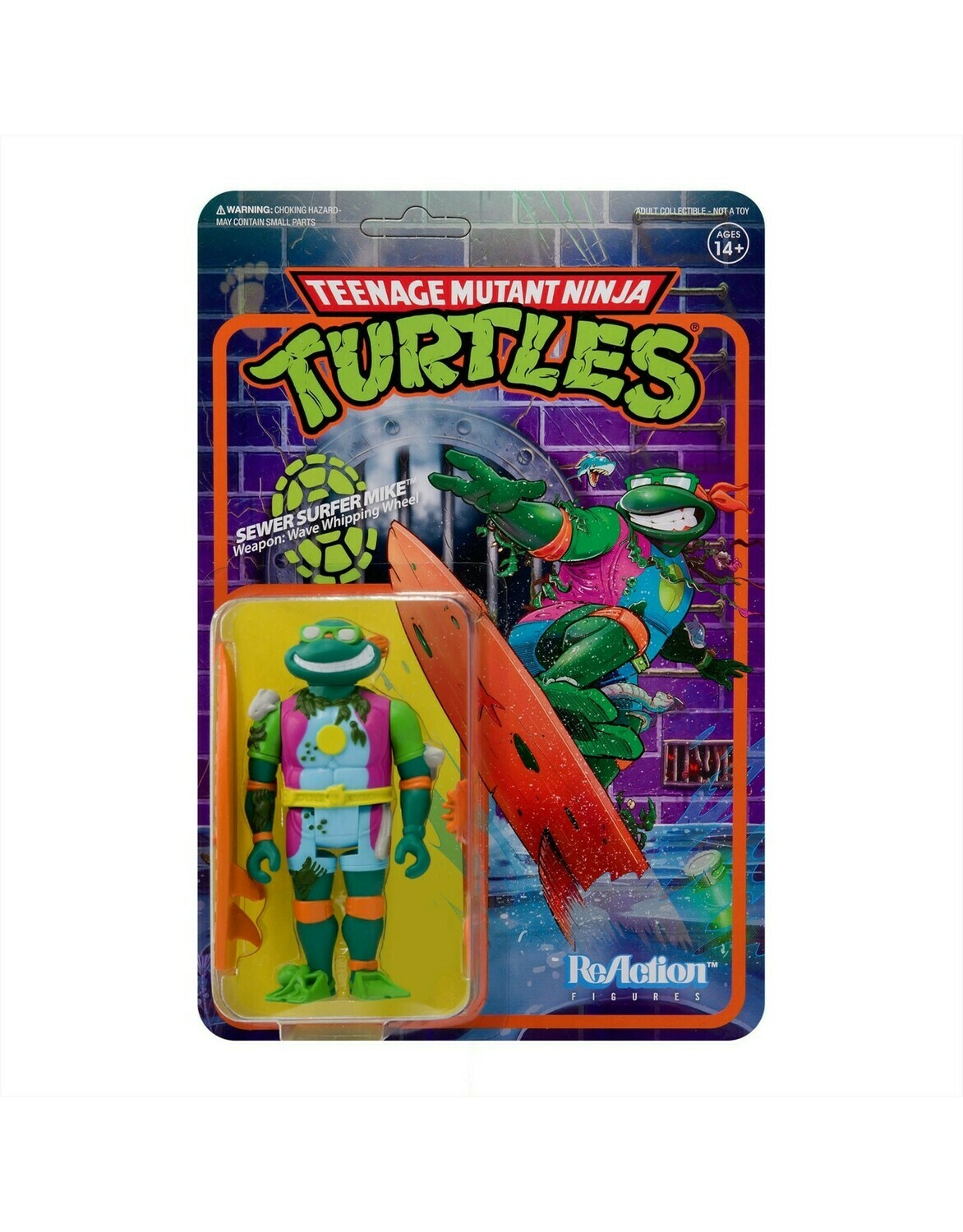 TMNT ReAction Sewer Surfer Mike