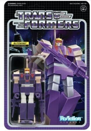 Transformers ReAction Blitzwing