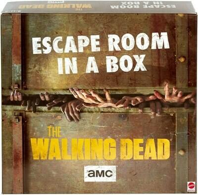 Walking Dead Escape Room In A Box