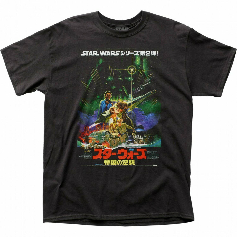 Star Wars Japanese ESB Poster T Shirt