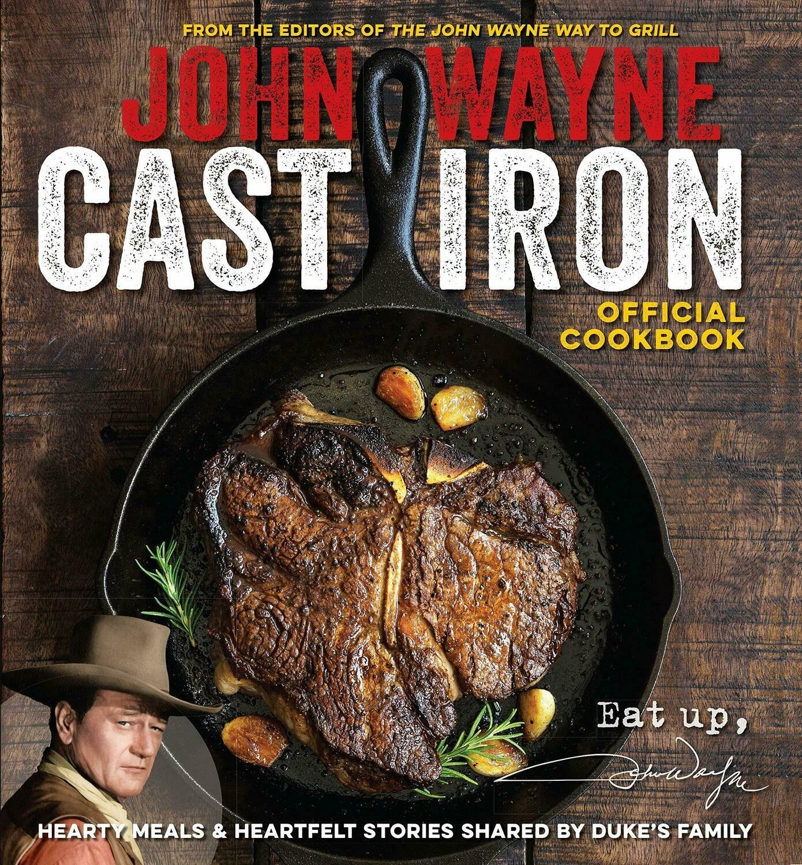 Wayne, John- Cast Iron Cookbook