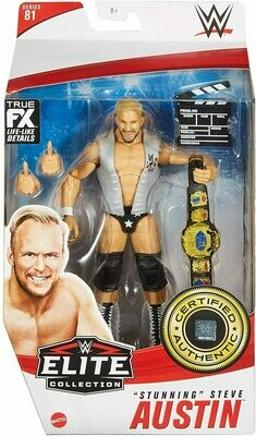 WWE Elite 81 Stunning Steve Austin