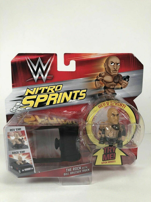 WWE Nitro Sprints Rock